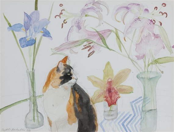 Artworks Of Elizabeth Blackadder British 1931