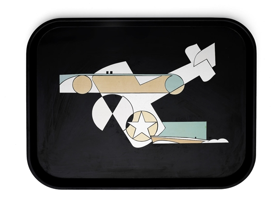 Switzer George | Westinghouse Micarta Tray Depicting Air