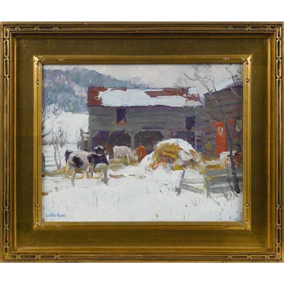 Auctions Nova Scotia >> Artworks of Harry Leith-Ross (American, 1886 - 1973)