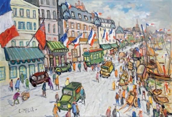 Charles malle jour de f te oil on canvas - Jour de fete vendenheim ...