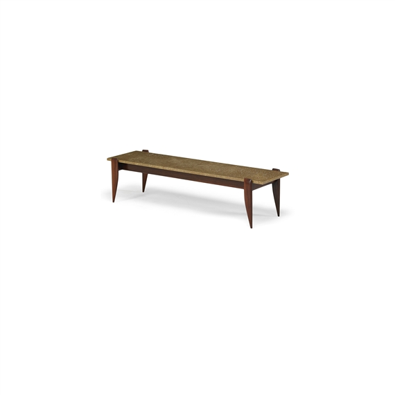 Gio Ponti Coffee Table 1950 Sculpted Walnut