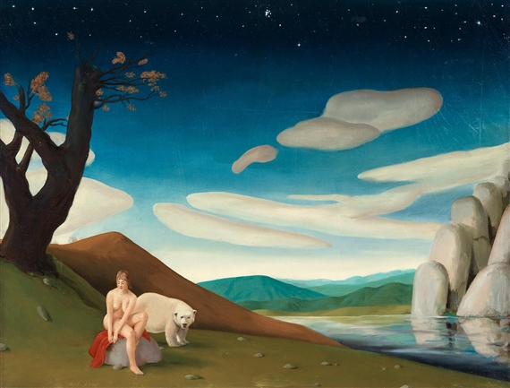 Patrik Andin 233 Han Blir Lite Sen 2008 Oil On Canvas