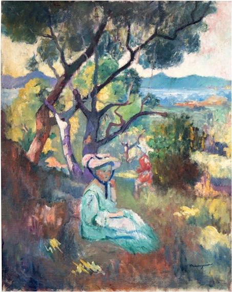 Henri Charles Manguin | Le jardin de la Villa Demière (1906) | MutualArt