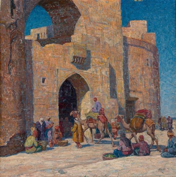 Heinrich r ter arriv e de la caravane aux portes for Aux portes dela deco