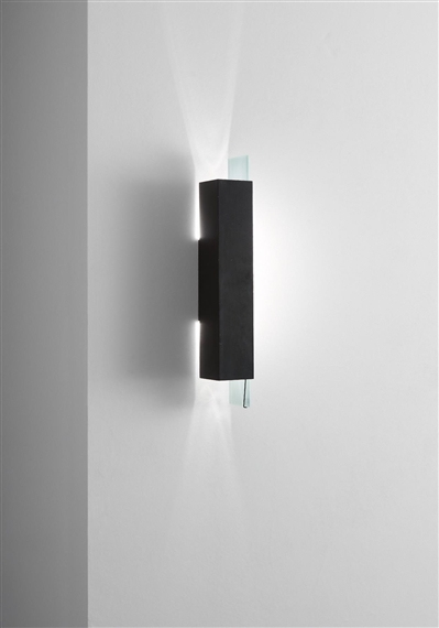 Steven Holl - Wall-mounted corner lamp, from...