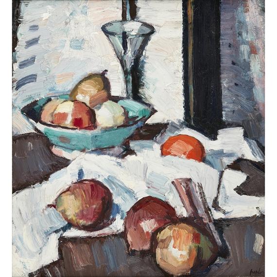 Samuel John Peploe A Still Life Of Apples And