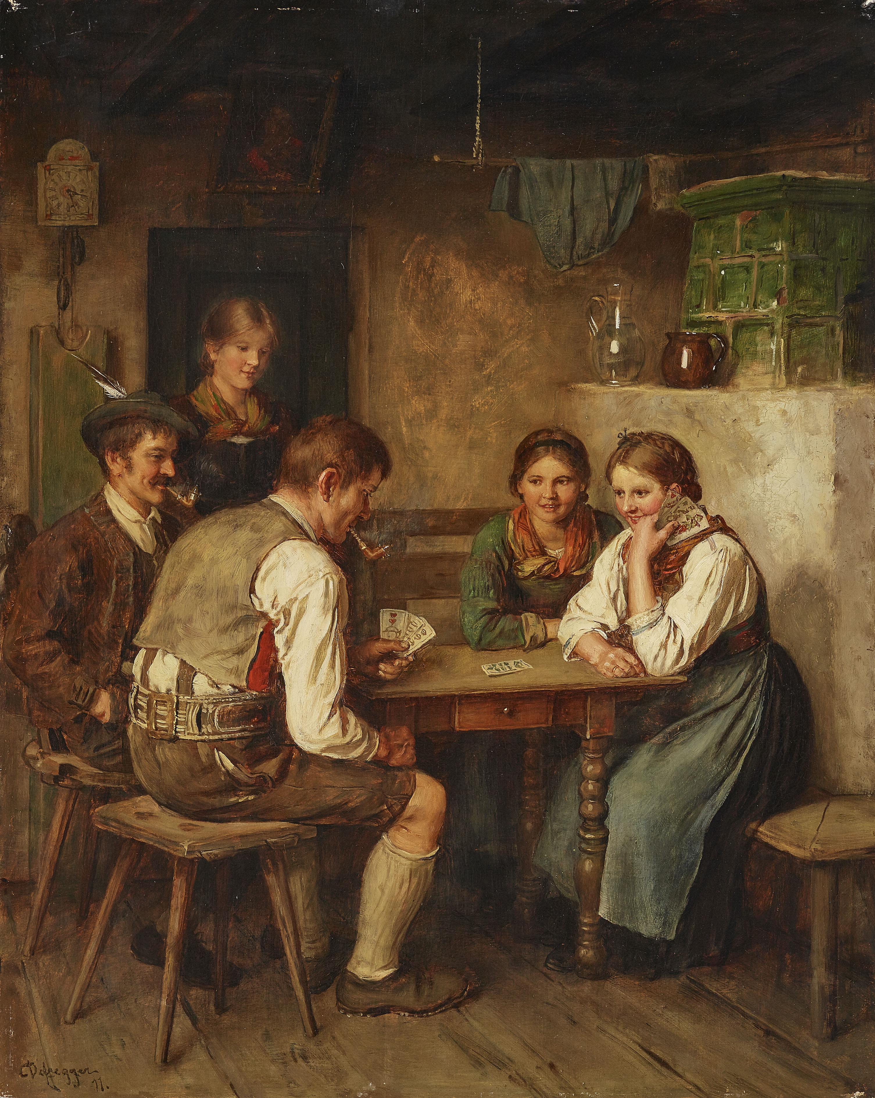 Franz. Kartenspiel Kreuzworträtsel