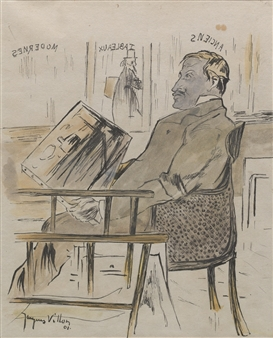708595734c51 Villon Jacques   Marchand d Art (1901)   MutualArt