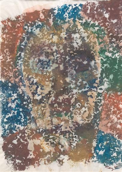Night Flight >> Artworks of Mark Tobey (American, 1890 - 1976)