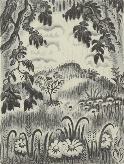 Burchfield Charles | Summer Benediction (1951 - 1952) | MutualArt