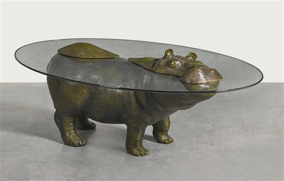Stoddart Mark HIPPO THE LAD COFFEE TABLE MutualArt - Hippo coffee table
