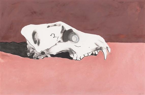 Foley Fiona | Dingo Skull Horizon I (1997) | MutualArt