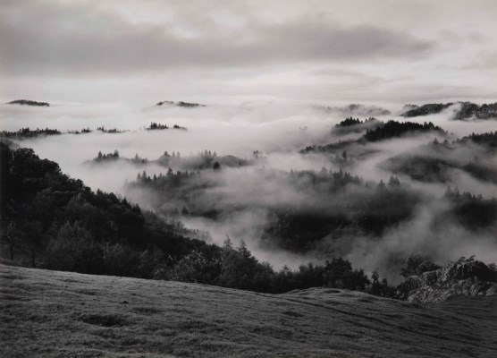 Artworks of Ansel Adams (American, 1902 - 1984) Ansel Adams Clearing Winter Storm Analysis