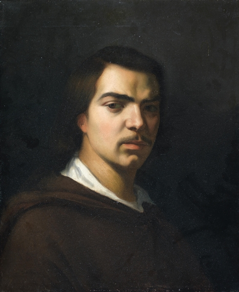 French School 19thcentury Portrait Of Honoré De Balzac