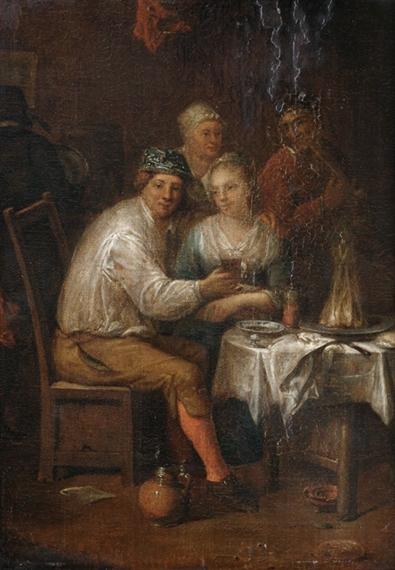 Jan josef horemans the elder interior with a for Horemans interieur