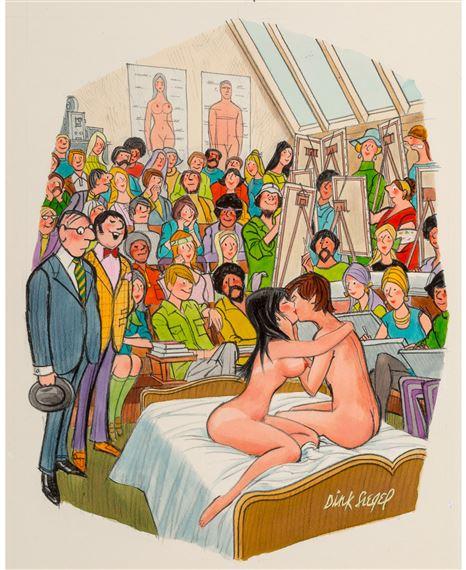 cartoon sex art lesbians humping nude