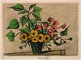 Auction results for bernard buffet french 1928 1999 for Bernard buffet cote