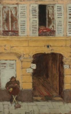Pierre bonnard la porte fen tre avec chien 1927 for Pierre bonnard la fenetre