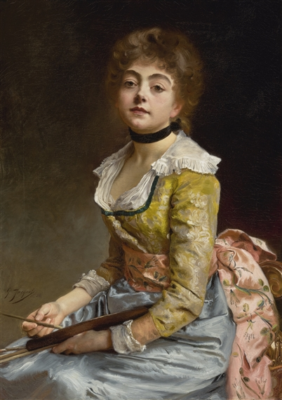 Artworks of Gustave Jean Jacquet (French, 1846 - 1909)