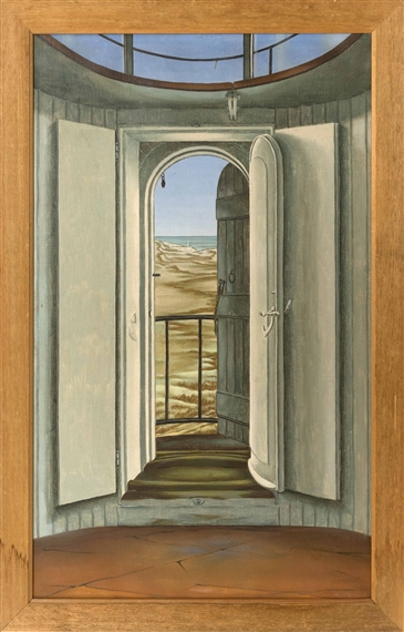 Looking Through an Open Door to the Dunes - Byron Thomas & Thomas Byron | Art Auction Results