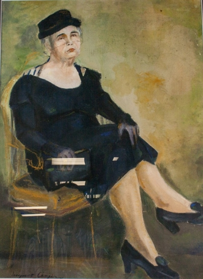 Artwork by Jacques Chapiro Painting of seated old lady on chair Made of oil  sc 1 st  MutualArt & Chapiro Jacques | Painting of seated old lady on chair | MutualArt