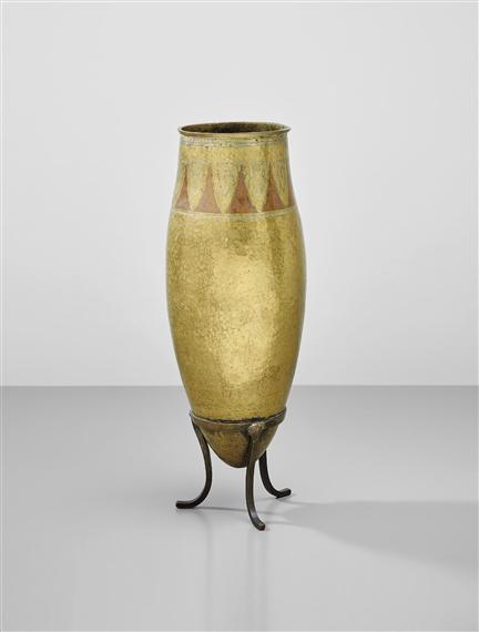 Linossier Claudius Tall Vase On Stand 1921 Mutualart