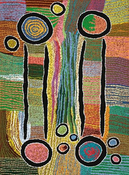 Maggie Napangardi Watson | Kana, Digging Sticks (1995