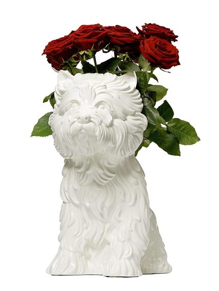 Koons Jeff Puppy Vase 1998 Mutualart