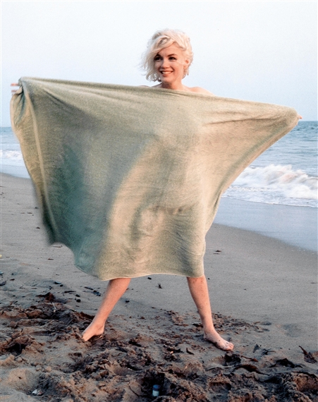 marilyn monroe beach photos nude