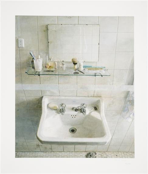 Antonio López García Sink And Mirror 1967: Antonio López García