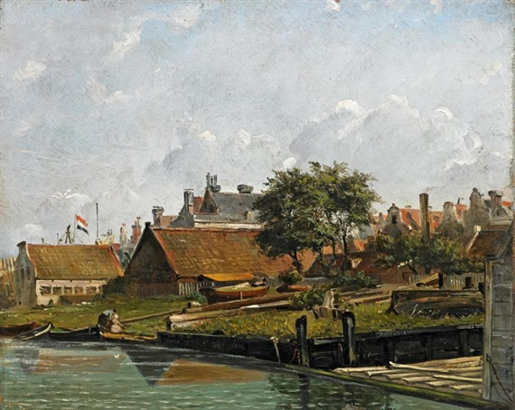 Deventer Willem | Shipyards near a Dutch Coastal Town