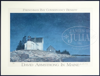 df59b901dd LOT OF FIVE WORKS. By David Armstrong. James D. Julia Auctioneers