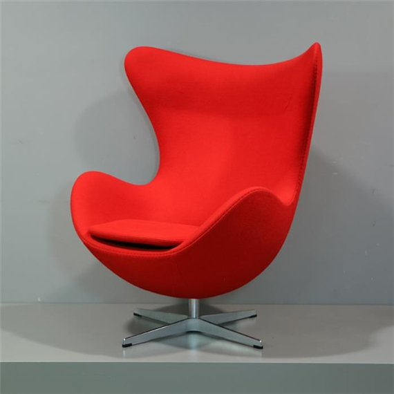 Jacobsen Arne Lounge Sessel Egg Chair Modell 3316 Mutualart