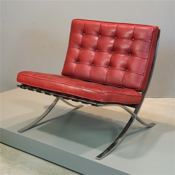 Ludwig Mies Van Der Rohe Sessel Mr 90 Barcelona Chair 1929
