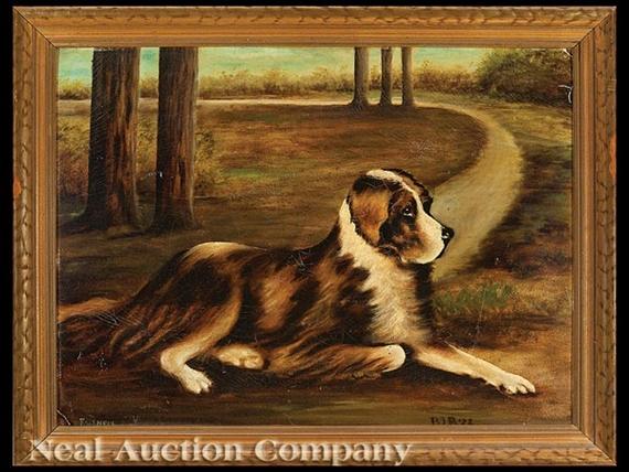 American Folk Art School, 19thCentury | Portrait of Faithful, the St ...