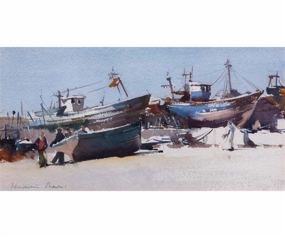 Mowll Benjamin | The Boat Building Yard, Essaovira, Morocco