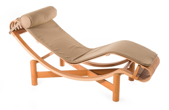 Artwork By Charlotte Perriand TOKYO 522 CHAISE LONGUE FOR CASSINA Made Of