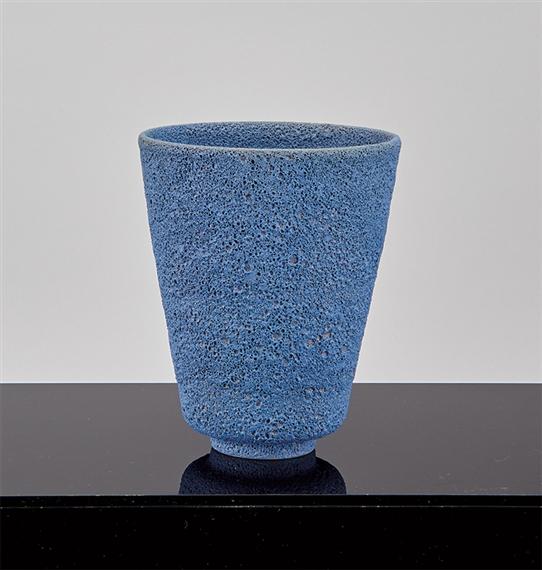 Otto Gertrud Natzler Conical Vase 1944 Mutualart