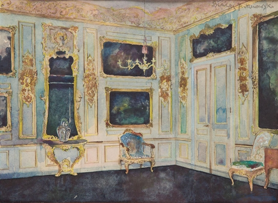 Pleasant Iwanowski Blazej Rococo Style Interior Mutualart Download Free Architecture Designs Sospemadebymaigaardcom