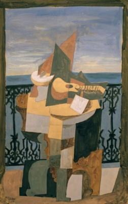 Picasso Pablo | Nature morte devant une fenêtre (1919) | MutualArt