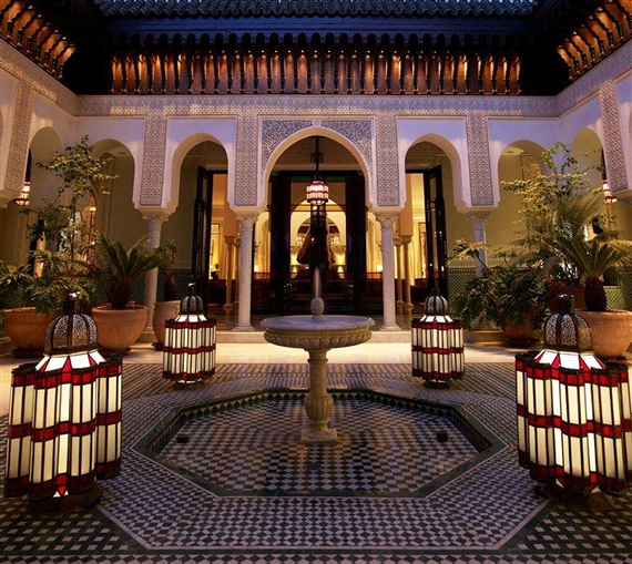 La Mamounia in Marrakech, where the next edition of 1-54 will be held