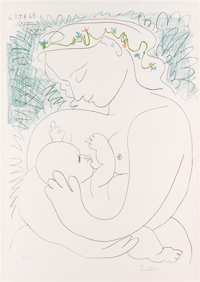 Picasso Pablo | Grande Maternité (1963) | MutualArt