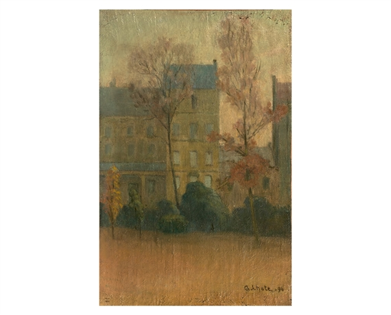 Artworks of andr lhote french 1885 1962 - Rue du jardin public bordeaux ...