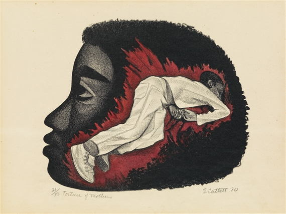 Catlett Elizabeth Torture Of Mothers 1970 Mutualart