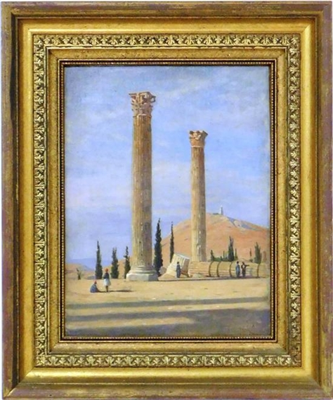 Ernest Wadsworth Longfellow | Temple of Jupiter in Athens | MutualArt