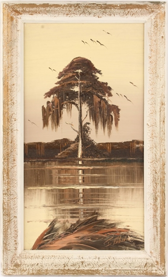 Gibson James | FLORIDA HIGHWAYMEN CYPRESS TREE | MutualArt