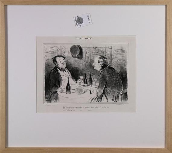 A literary analysis of le ventre legislatif by honor daumier