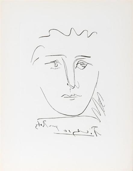 Pablo Picasso - L\'Age de Soleil (Pour Roby), Etching