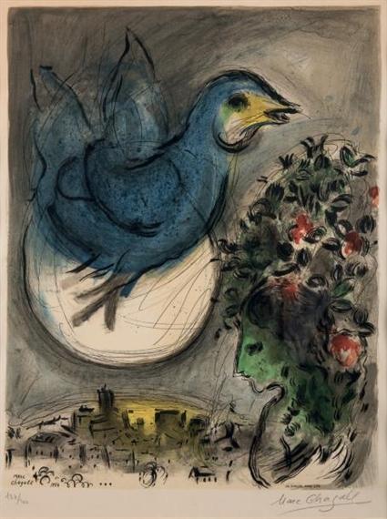 chagall marc 14393 artworks mutualart. Black Bedroom Furniture Sets. Home Design Ideas