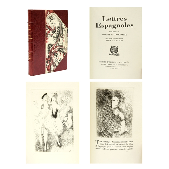 Laurencin Marie Illustration Book Lettres Espagnoles